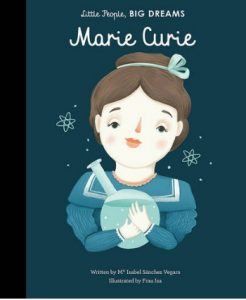 Marie Curie cover image and web purchase link