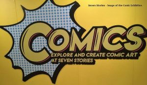 Always worth a visit to Seven Stories - Comics image