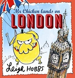 Mr Chicken Lands on London - cover image and web link